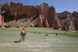 Mountain Biking Upper Mustang with Himalayan Single Track
