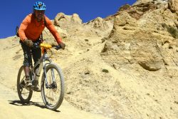 Mountain Biking in Upper Mustang Nepal with Himalayan Single Track