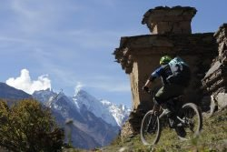 Heli Biking Nepal with Himalayan Single Track