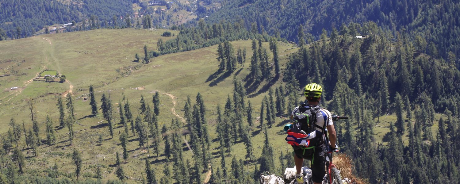 Mountain Biking Rara Lake with Himalayan Single Track