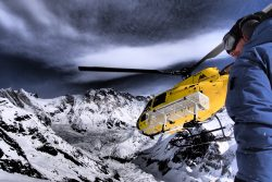 Heli Biking in Nepal with Himalayan Single Track
