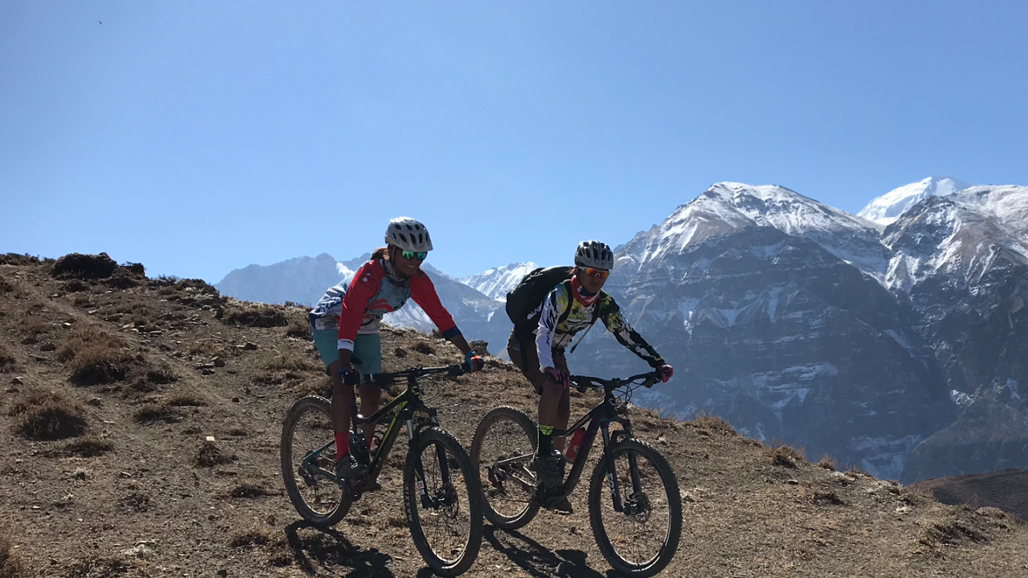 Mountain Biking Annapurna Circuit with Himalayan Single Track