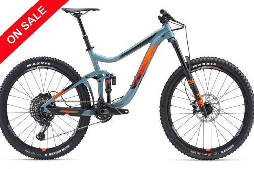 2018 Giant Reign 1.5 GE At Himalayan Single Track