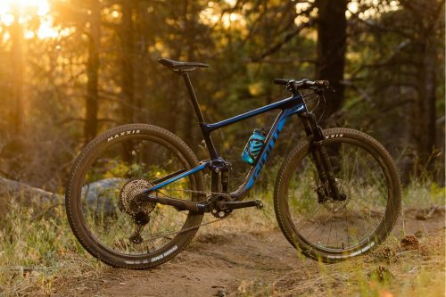 2020 Giant Anthem Adv. Pro at himalayan single track