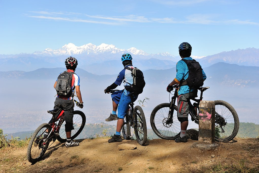 Kathmandu Valley by Mountain Bike