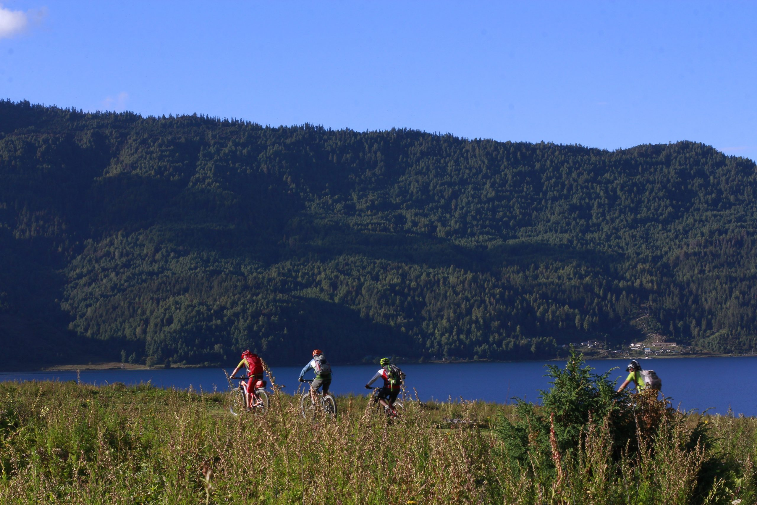 Mountain Biking in Rara Lake Nepal